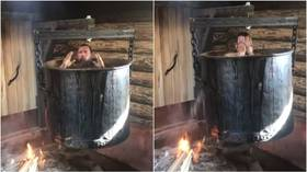 Russian anti-gay orthodox tycoon boiled in giant kettle, shares VIDEO