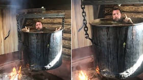 Russian anti-gay orthodox tycoon boiled in giant pot, shares VIDEO