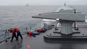 Taiwan Navy holds live-firing maneuvers amid China tensions