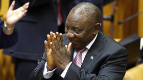 S. African lawmakers elect Ramaphosa as state president in 1st parliament sitting