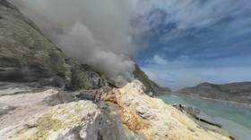 The Ijen Man (360 Video)