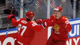 Russia beats USA 4-3 to reach ice hockey world championship semi-final