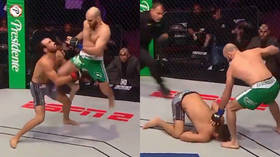'F*cking beautiful!' Flying knee KO by Russian fighter sets PFL record for fastest finish (VIDEO)