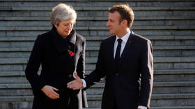 Macron demands 'rapid clarification' on Brexit as May's resignation prompts EU anxiety