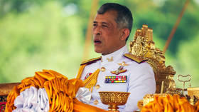 Thailand's king opens 1st parliament since 2014 coup