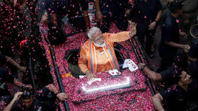 Final results: Modi's party wins overwhelming majority in Indian parliament