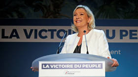 Le Pen calls on Macron to dissolve National Assembly after EU election results