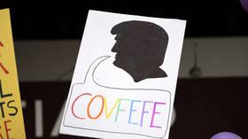 Clinton attacks Trump and Giuliani in bizarre Scrabble-themed tweet