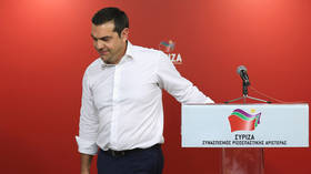 Left-wing Greek PM Tsipras calls for snap elections after party takes beating in EU & home polls