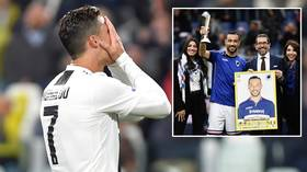 Missing out again: Cristiano Ronaldo loses out on Golden Boot for fourth season in a row