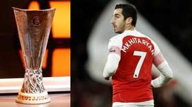 UEFA block Mkhitaryan tribute as Arsenal teammates label his Europa League Final absence 'a scandal'