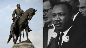 Now that even MLK is a 'sex criminal', maybe US can stop toppling statues and 'canceling' people?