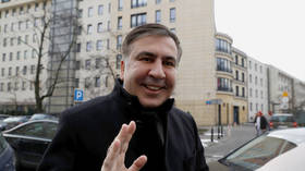 Guess who's back? Ukraine returns citizenship to eccentric former Georgian president Saakashvili