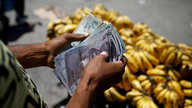 The human cost of US 'economic war' on Venezuela: Hyperinflation hits 130,000% last year