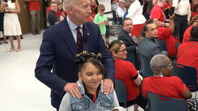 'Creepy Joe strikes again': Biden calls 10-year-old girl 'good looking' at campaign event