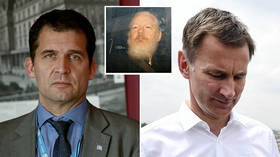 Assange as free to leave as someone 'on a rubber boat in a sharkpool' – UN's Melzer destroys Hunt