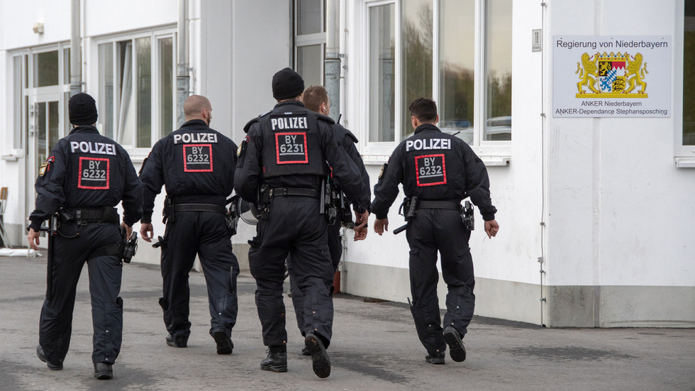 'Absolute no go': German police officers injured in clashes with BICYCLE-THROWING asylum seekers