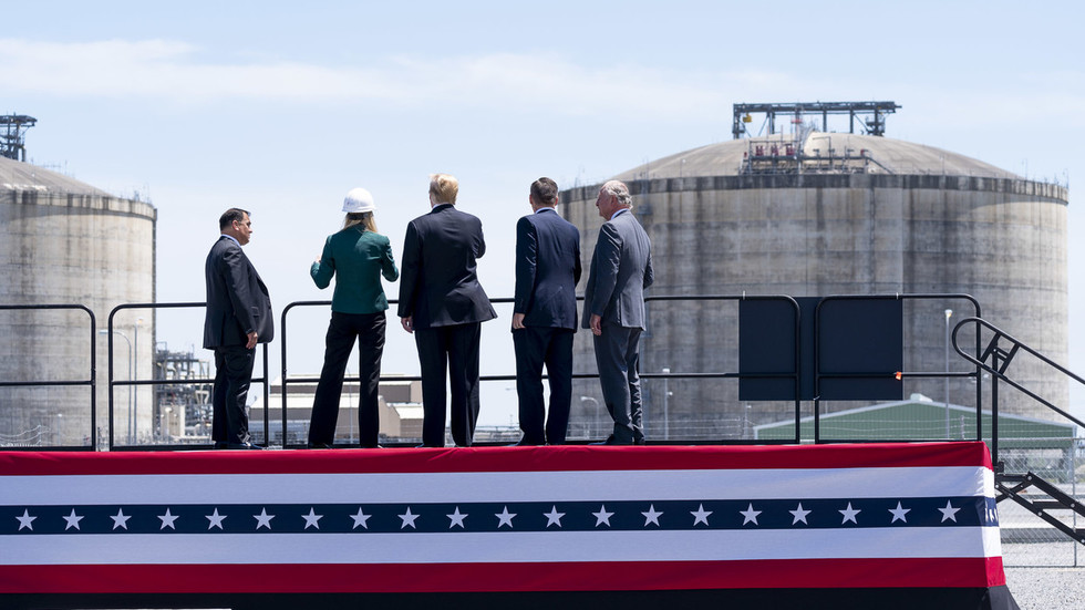 'Shipping freedom & opportunity abroad!' Trump amplifies bizarre LNG sales pitch