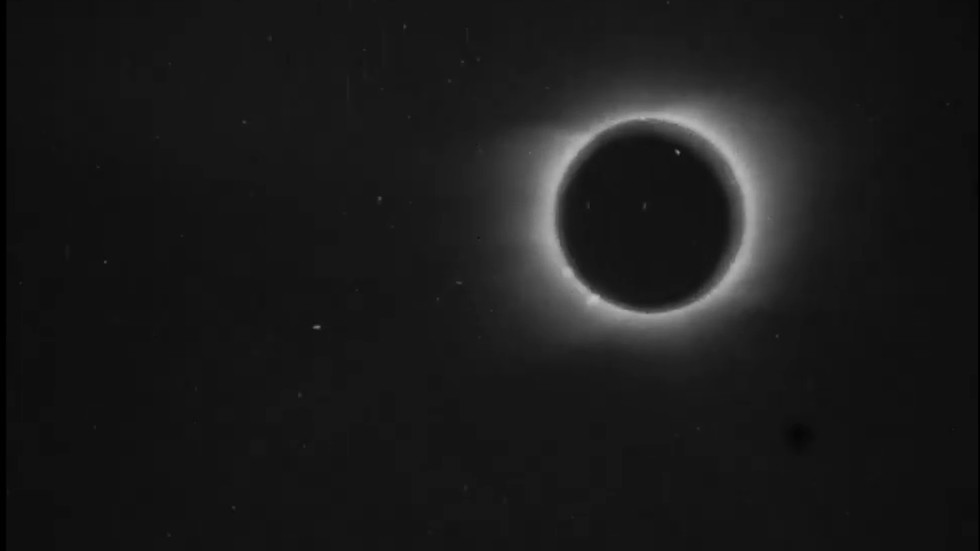19th century 'magic' meets 21st technology as Victorian-era solar eclipse VIDEO restored to 4k