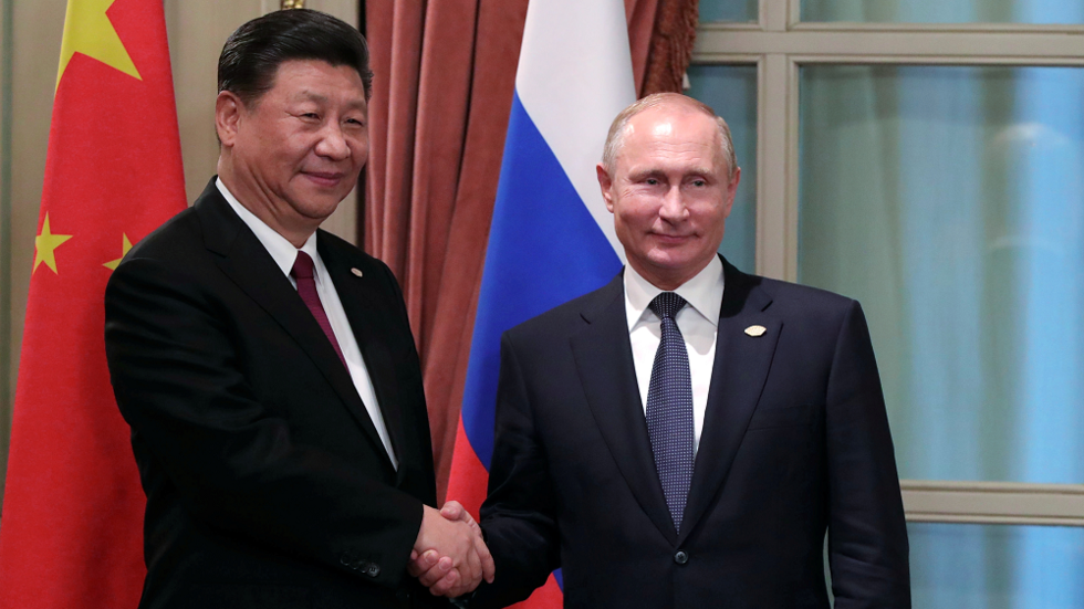 Putin and Xi talk to press after Moscow meeting
