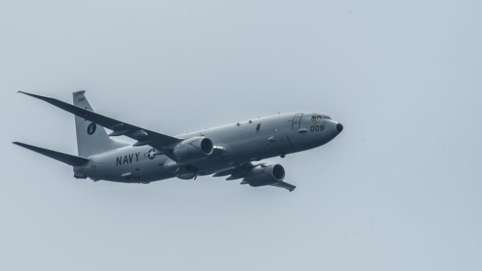 Moscow: US Navy plane headed towards Russia's Syrian naval base, no 'irresponsible' intercept