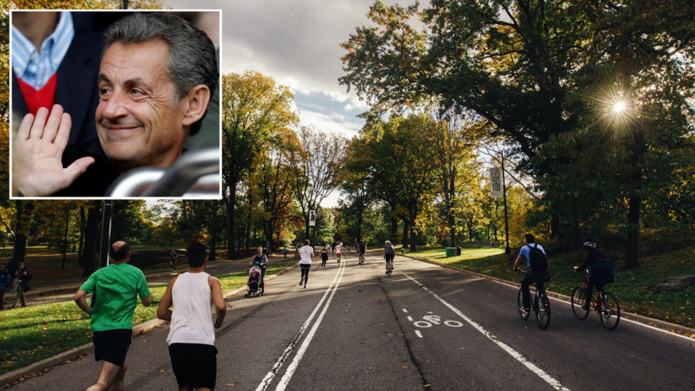 'Nothing unusual': Former French president Sarkozy spotted 'on the run' in St. Petersburg
