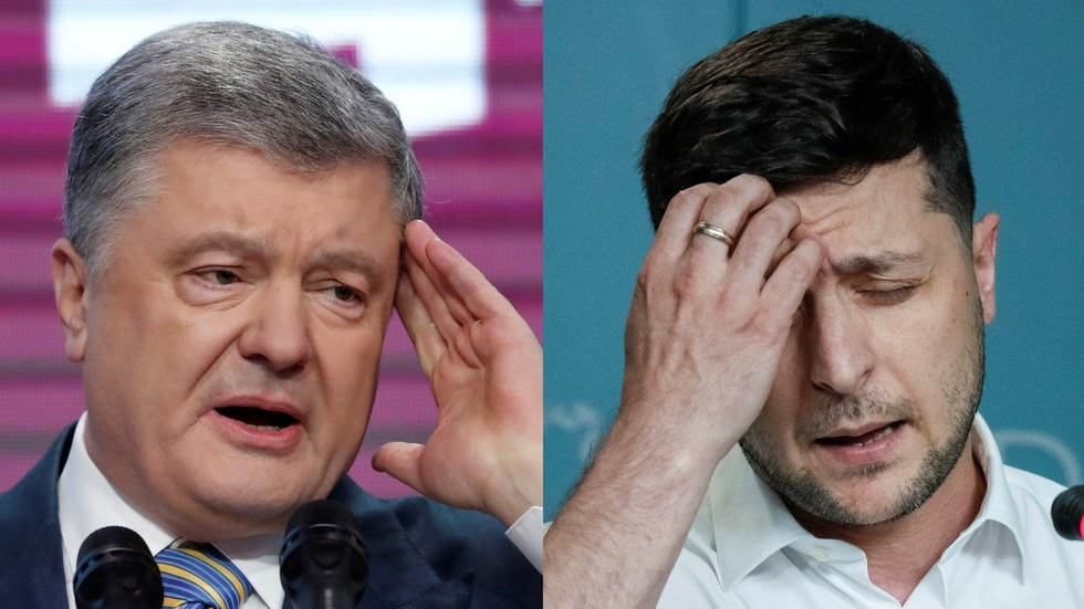 Zelensky plagiarizes Poroshenko's 'imperial Russia' line, then says it was planted