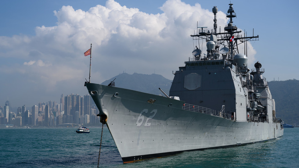 Russia slams US Navy for 'unacceptable' behavior after warships' near-miss in East China Sea