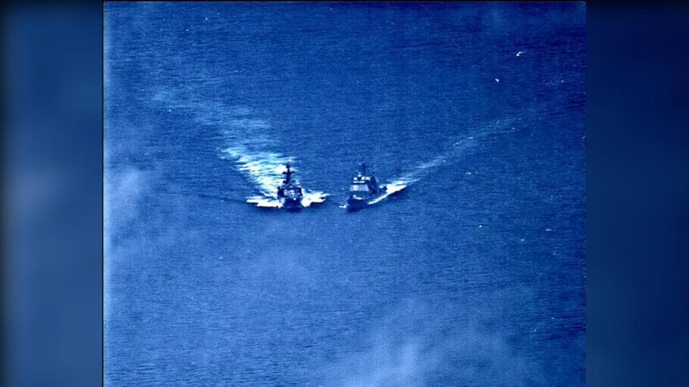 WATCH Russian and US warships almost collide in East China Sea (PHOTO, VIDEO)
