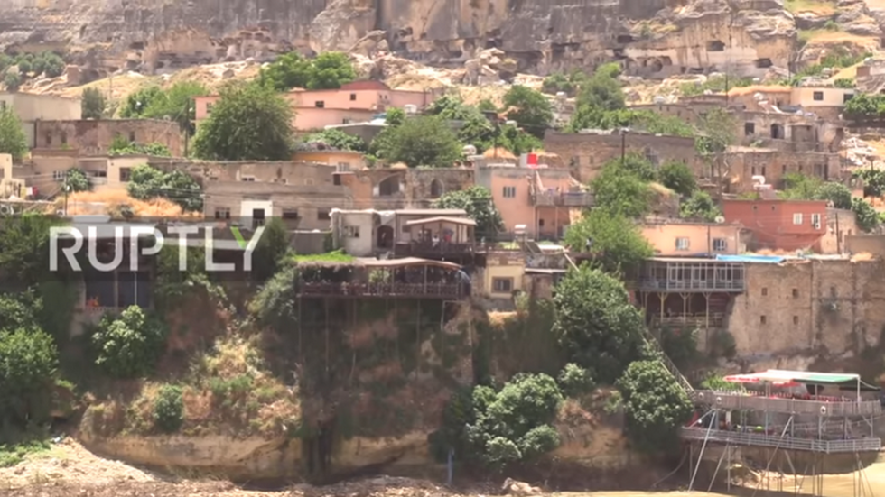 Catch last glimpse of 12,000-old Turkish town before it's devoured by water