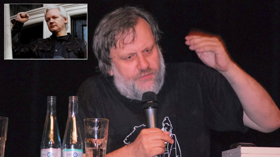 'Assange extradition should be warning to liberals who believe in American democracy' – Zizek