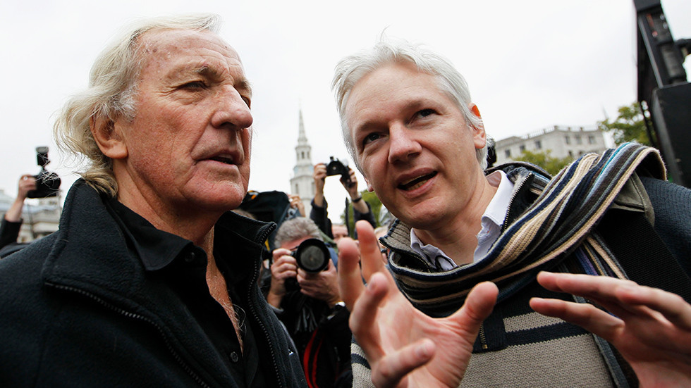 'This is about shutting down dissent' – John Pilger on Assange US extradition case