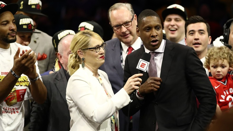 Police investigating Raptors president Ujiri for allegedly hitting deputy after NBA title win