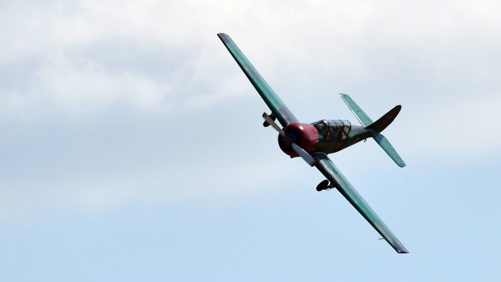 WATCH terrifying moment plane crashes into river at Polish airshow, killing pilot