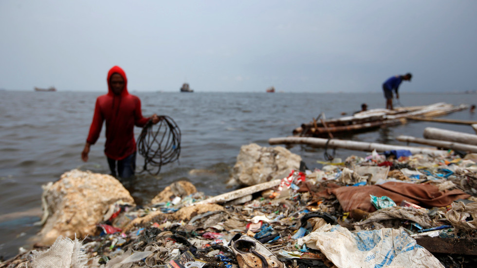 We're not a dumpster! Indonesia sends plastic, shoes & DIAPERS disguised as paper waste back to US