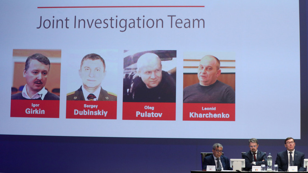 Dutch-led investigators demand arrest of 4 people allegedly involved in MH17 downing