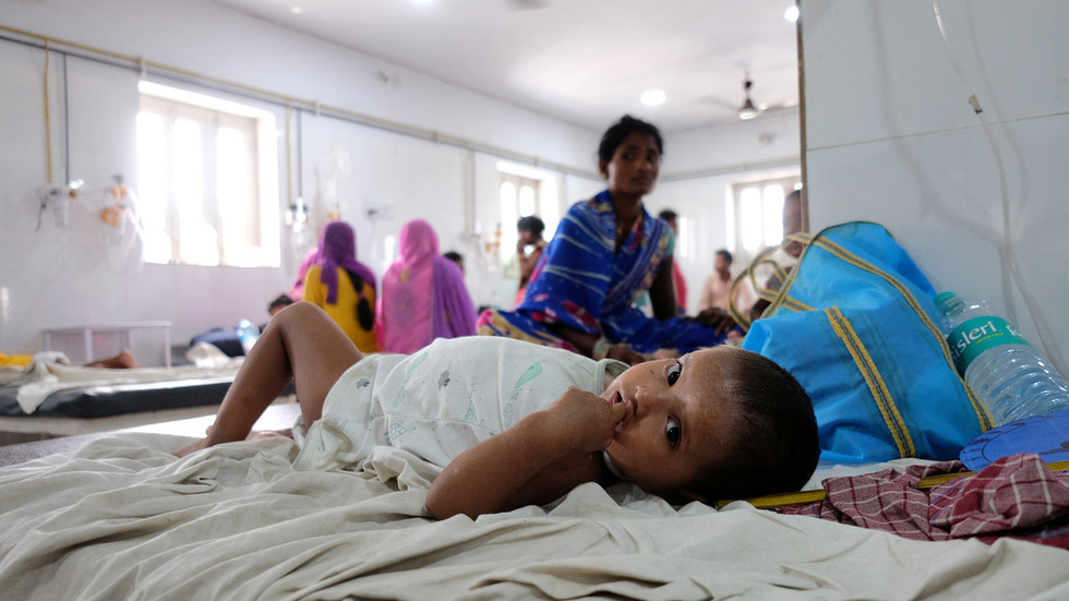 'Brain fever' kills 150 children in India as more cases emerge
