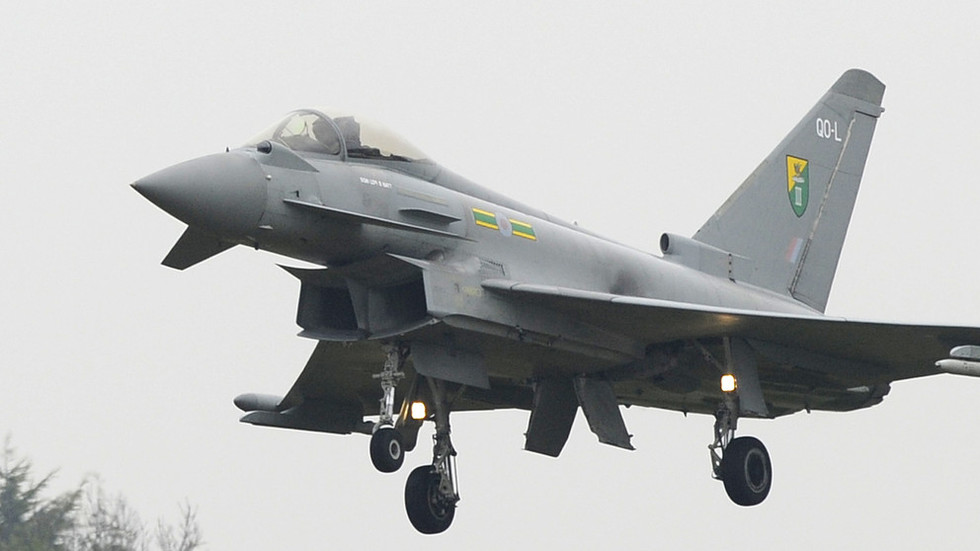 2 RAF jets scramble to intercept plane with 'extremely ...