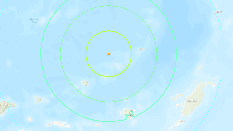 7.3- magnitude earthquake strikes Banda sea off Indonesia coast,  tremors felt in Australia