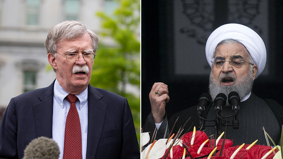 'Dialogue at gunpoint': Bolton says Iran's 'silence' is DEAFENING while it's actually pretty vocal