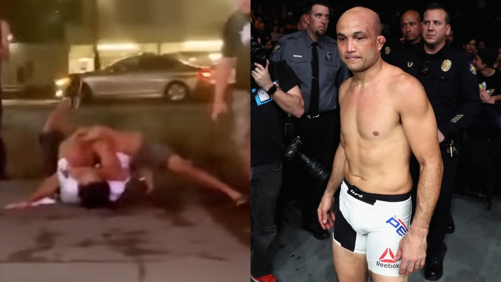 Brawling in the street: Former UFC champ B.J. Penn fights with nightclub doorman in Hawaii