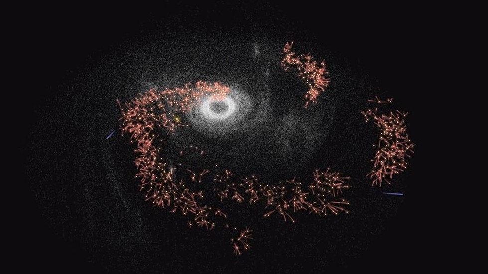 Humans conquer Milky Way star by star in VIDEO simulation of galactic colonization