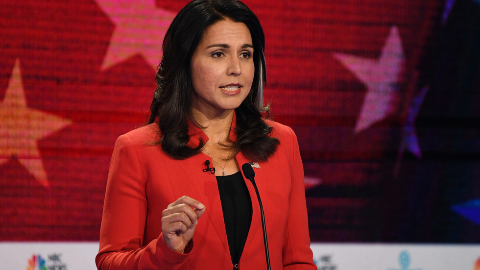 NBC's debate hosts weren't very interested in Tulsi Gabbard, but Google searches for her name soared