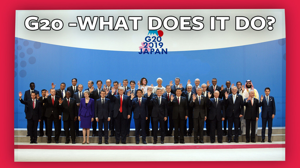 ICYMI: World leaders gather at G20 in Japan to achieve nothing together