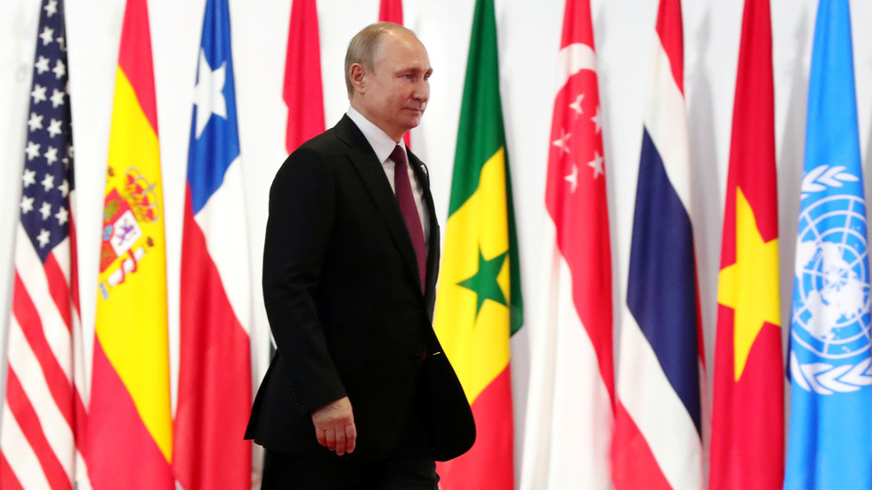 Putin wraps up his visit to G20 Summit in Japan with press conference