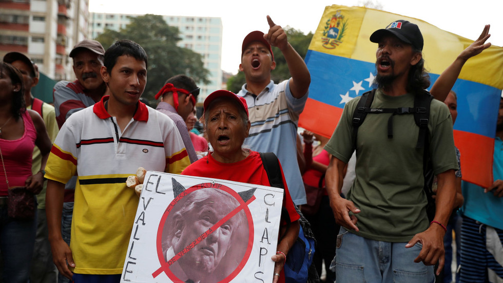 'Regime change takes time': Trump plays down stalled coup in Venezuela