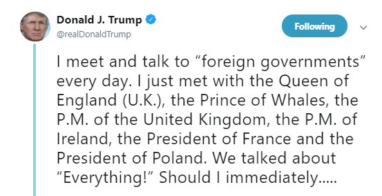 Trump makes a splash with 'Prince of Whales' Twitter gaffe