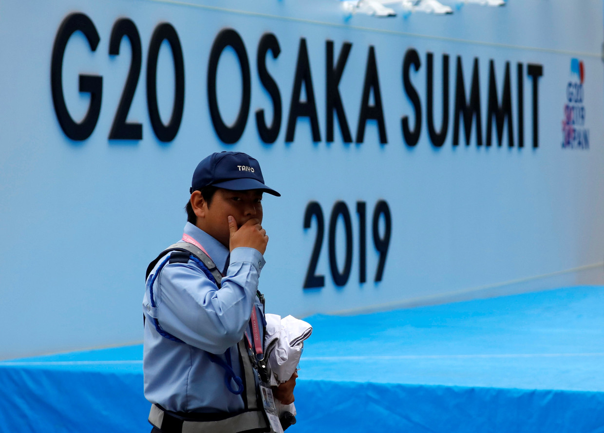 G20 Osaka summit news