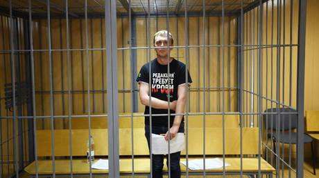 'Mistakes & violations' in high-profile case against journalist Golunov, Russian Senate head says