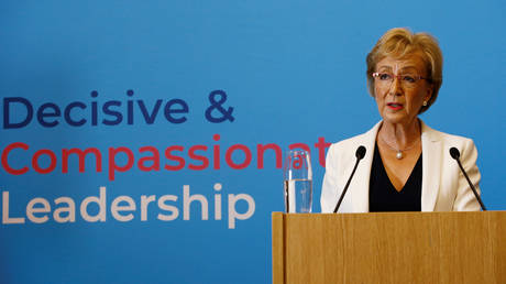 'Hard red line': UK PM candidate Leadsom would seek Brexit on October 31
